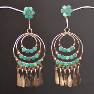 Frank Dishta Cerrillos Earrings