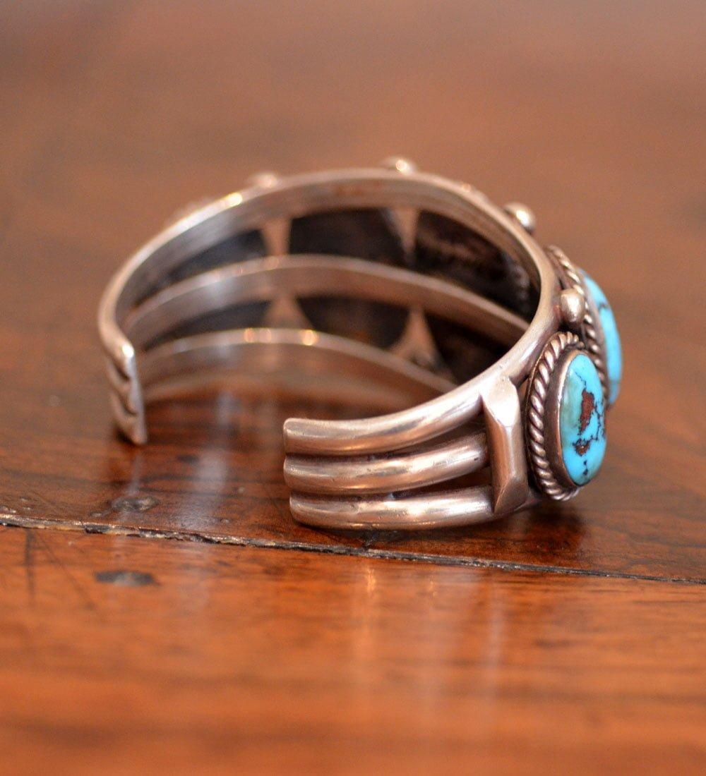 5 stone Manasa Turquoise Cuff