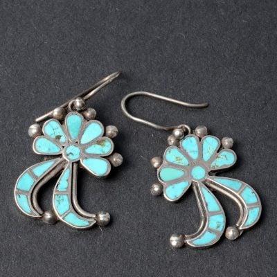 Zuni Frank Dishta Earrings