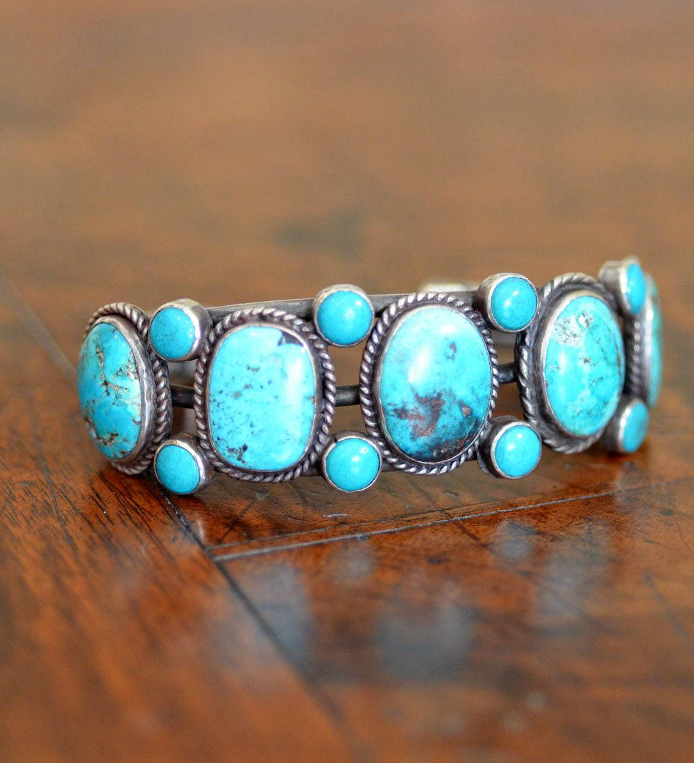 Navajo Dot Row Cuff
