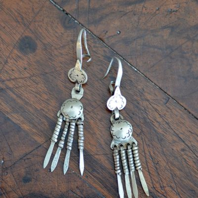 1880's Kiowa Plains Indian Earrings
