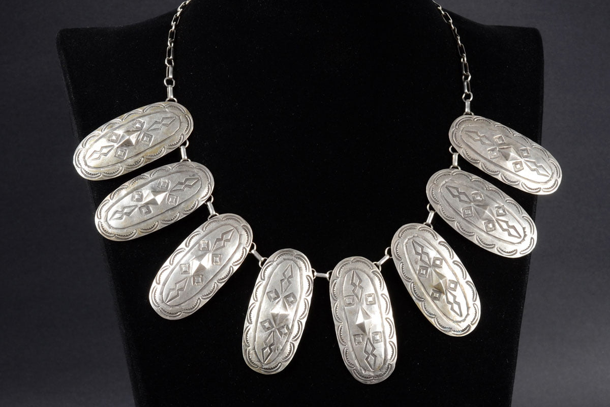 Navajo Silver Necklace
