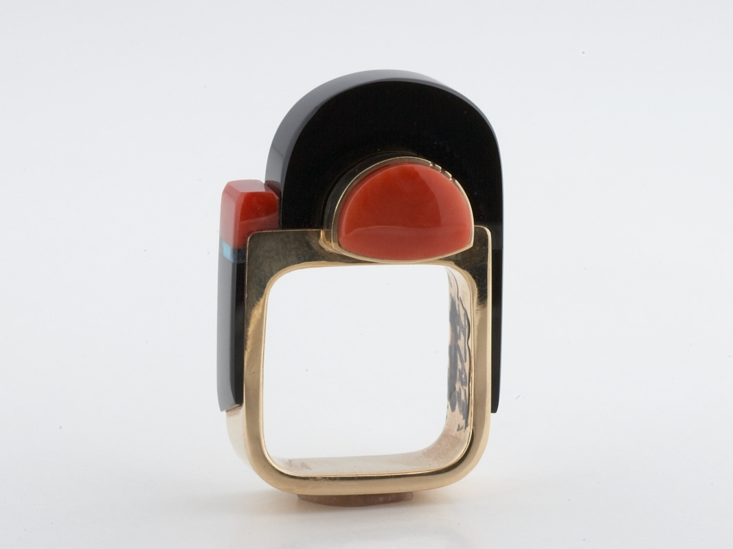 Contemporary Richard Chavez Ring