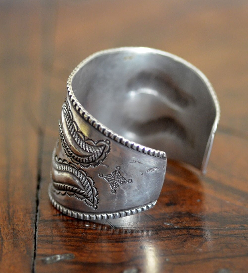 Perry Shorty Coin Silver Cuff