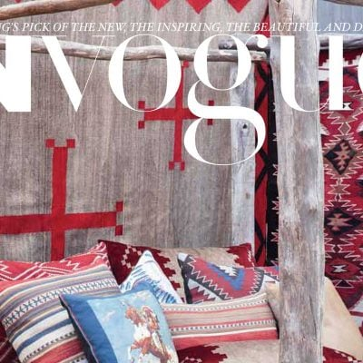 In Vogue Navajo Textiles