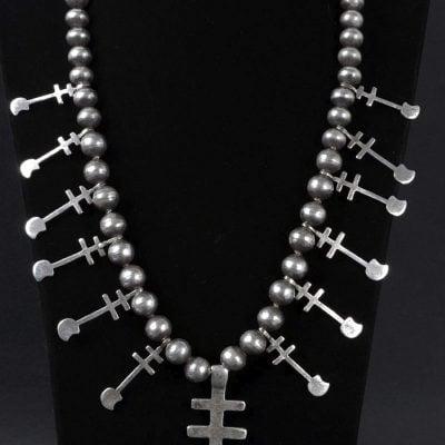 Isleta Cross Necklace