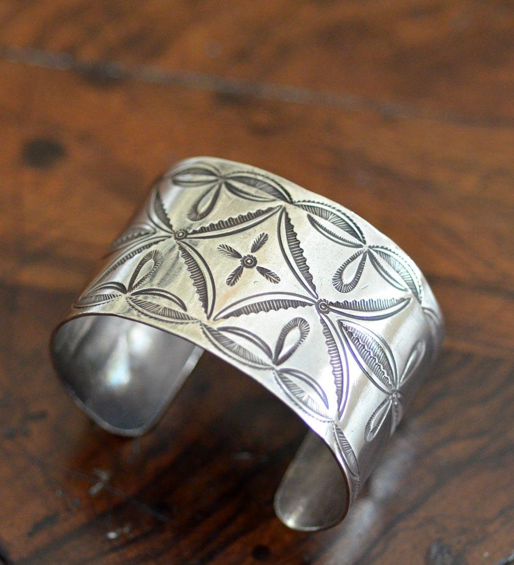 Classic Stamped Navajo Cuff