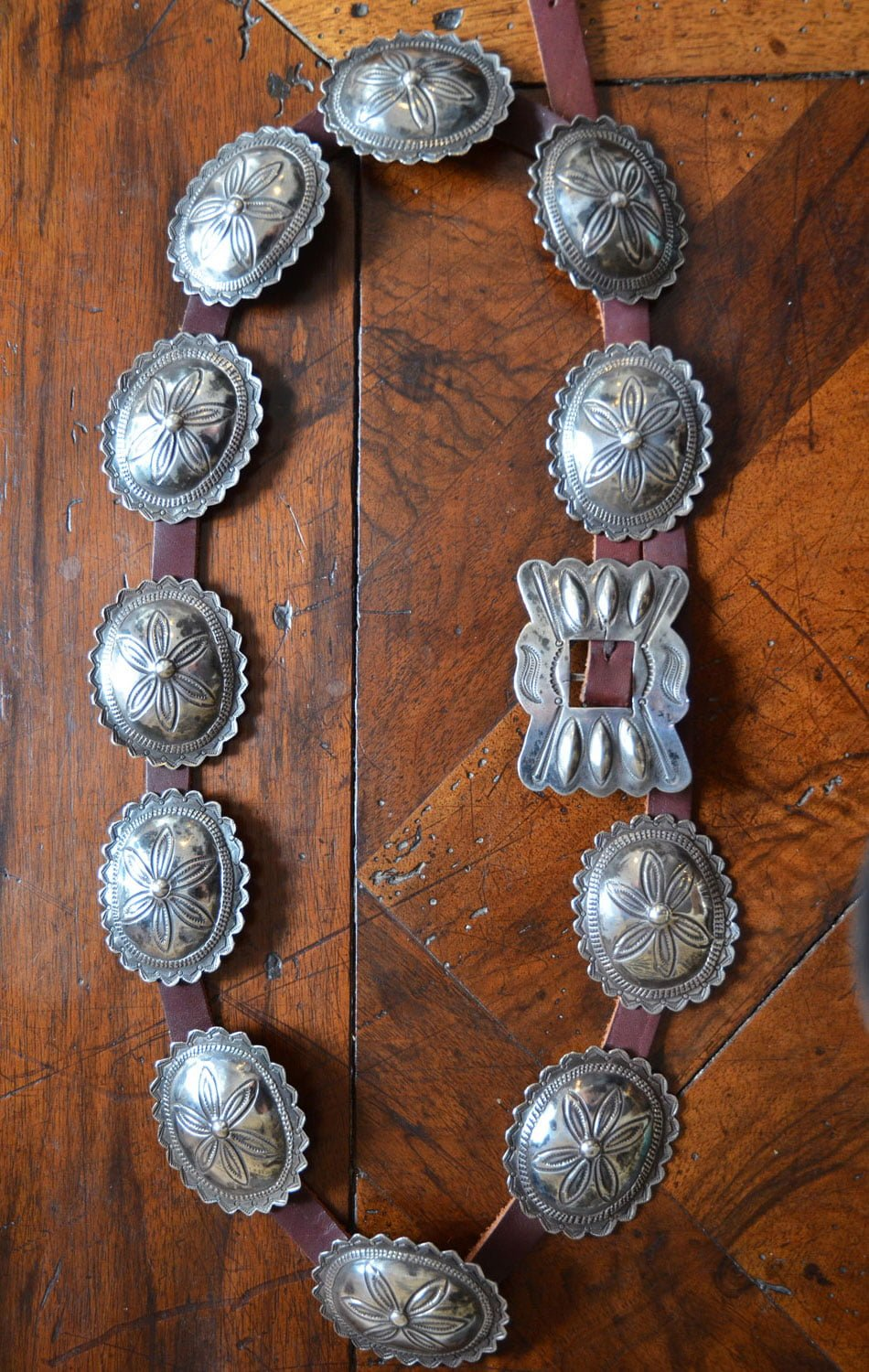 Small Navajo Concho Belt