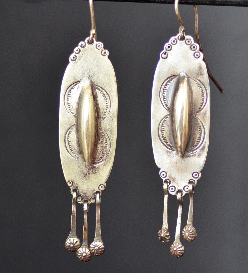 Isleta Shield Earrings