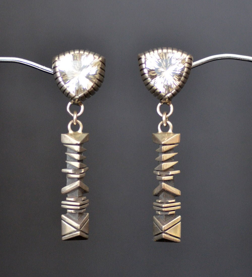 Isaiah Ortiz Quartz earrings