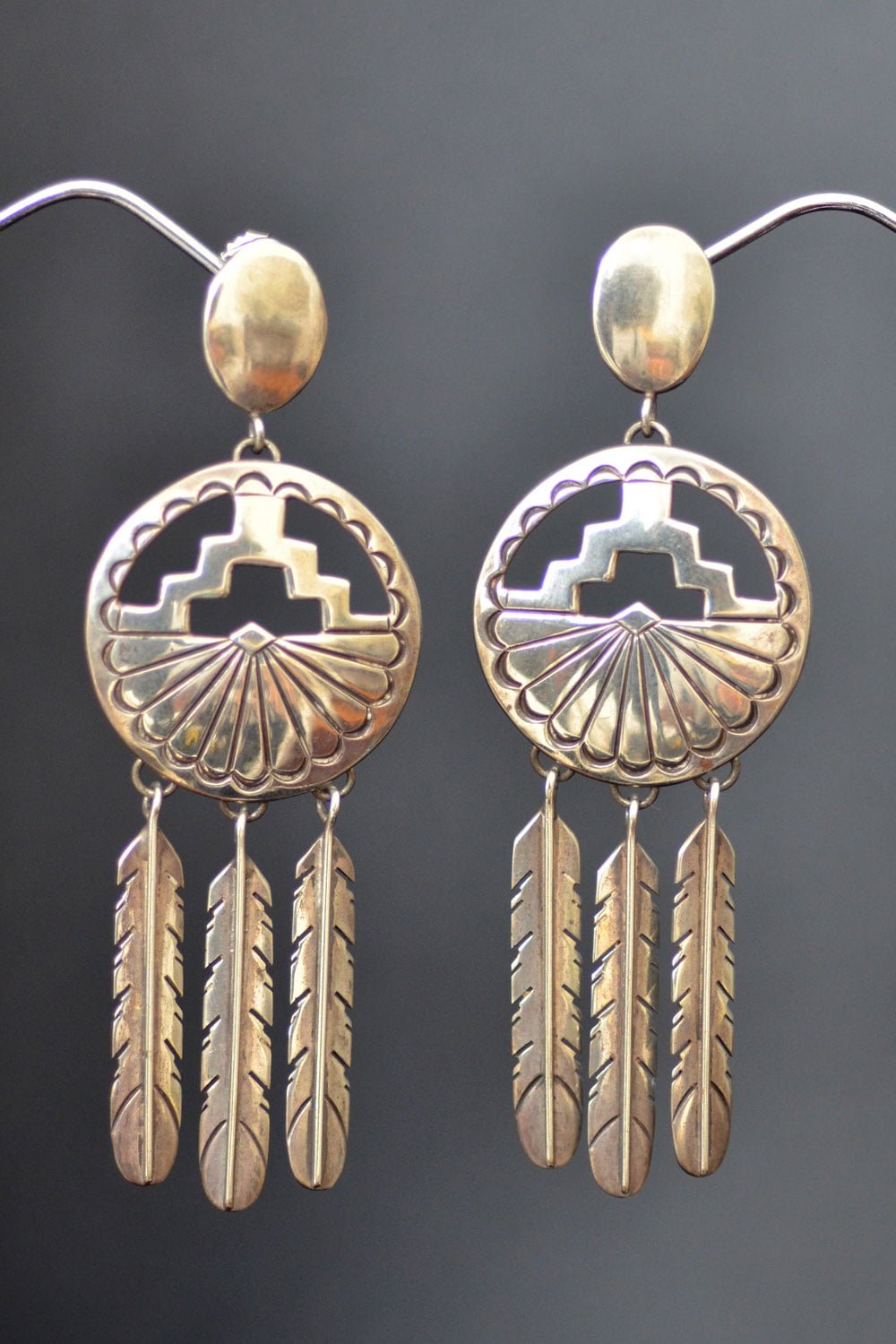 Long Tribal Earrings