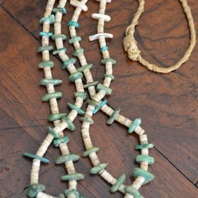 Santo Domingo Tab Necklace