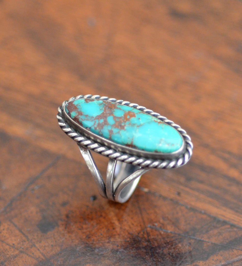 ll Vintage Navajo Turquoise Ring