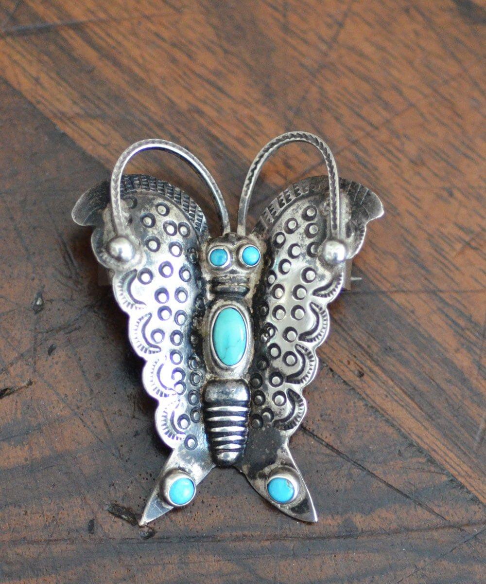 Navajo UITA 5 -Butterfly Pin