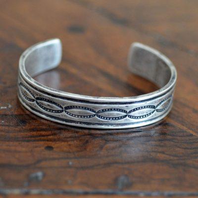 Heavy Gauge Navajo Silver Cuff