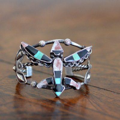 Zuni Knife Wing Bracelet