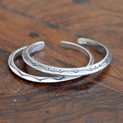 Vintage Navajo Silver Bracelets