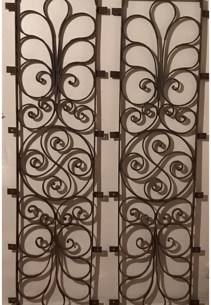 Mexican Wrought Iron Gates