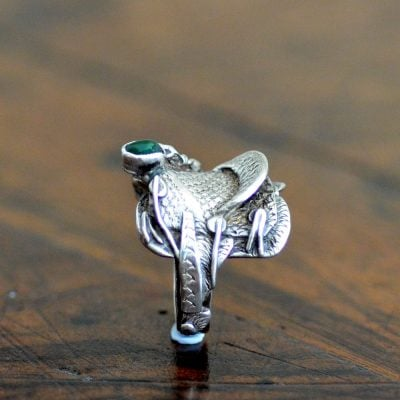 Navajo Silver Saddle Ring