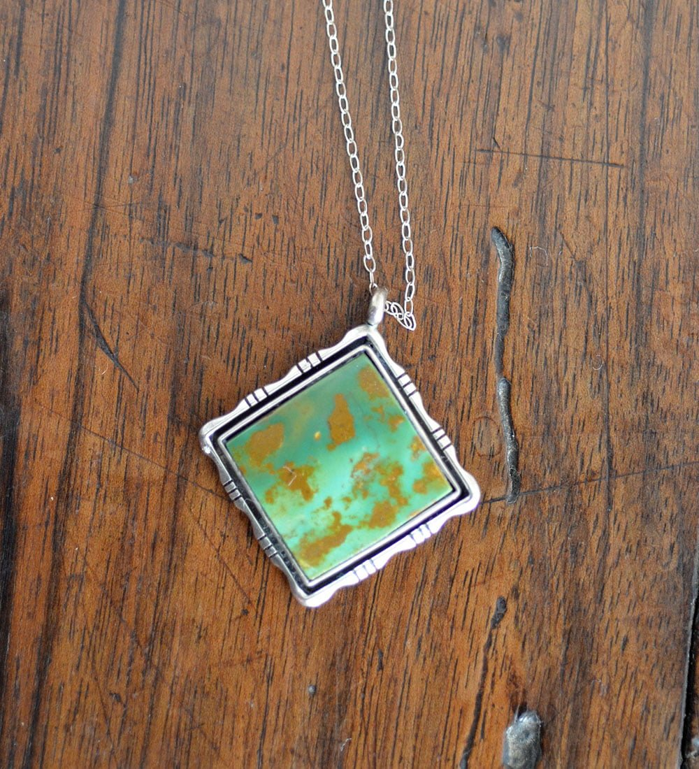 King Manassa Turquoise Pendant