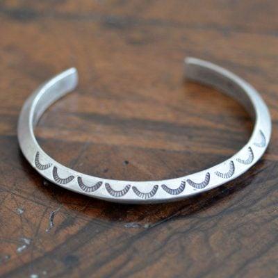 Vintage Tri Sided Bracelet
