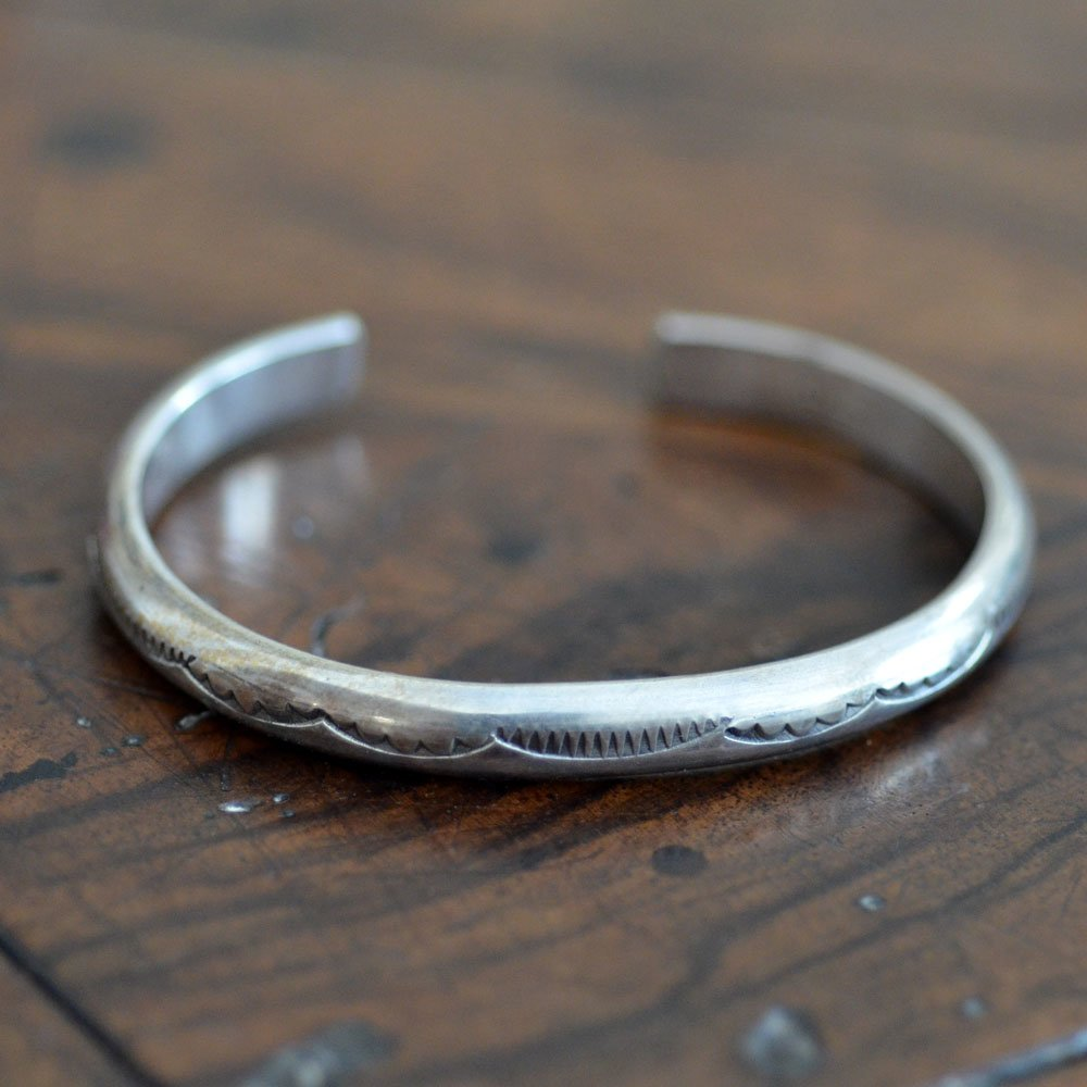 Native American Silver Bracelet