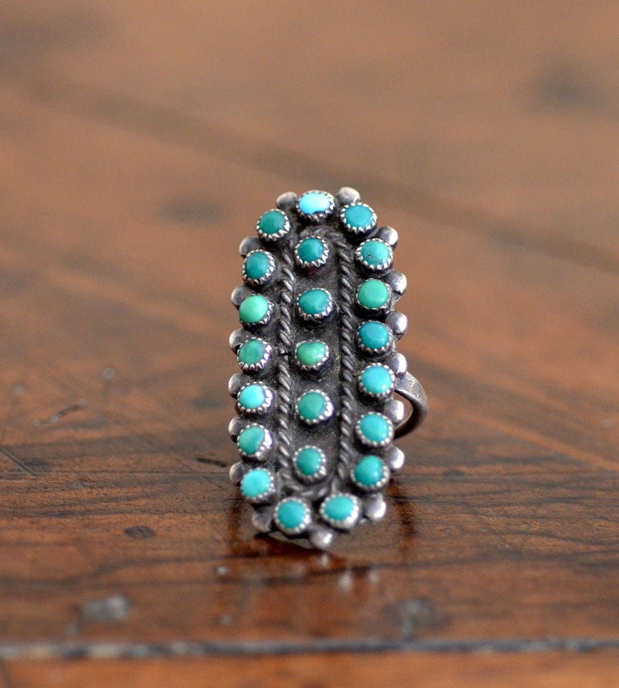 Classic Longer Styled Zuni Ring