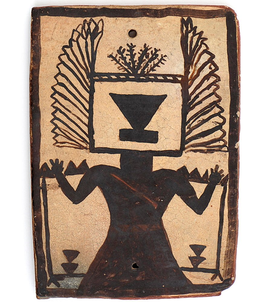 Hopi Tile -Crow Mother- Tad Anderman Collection