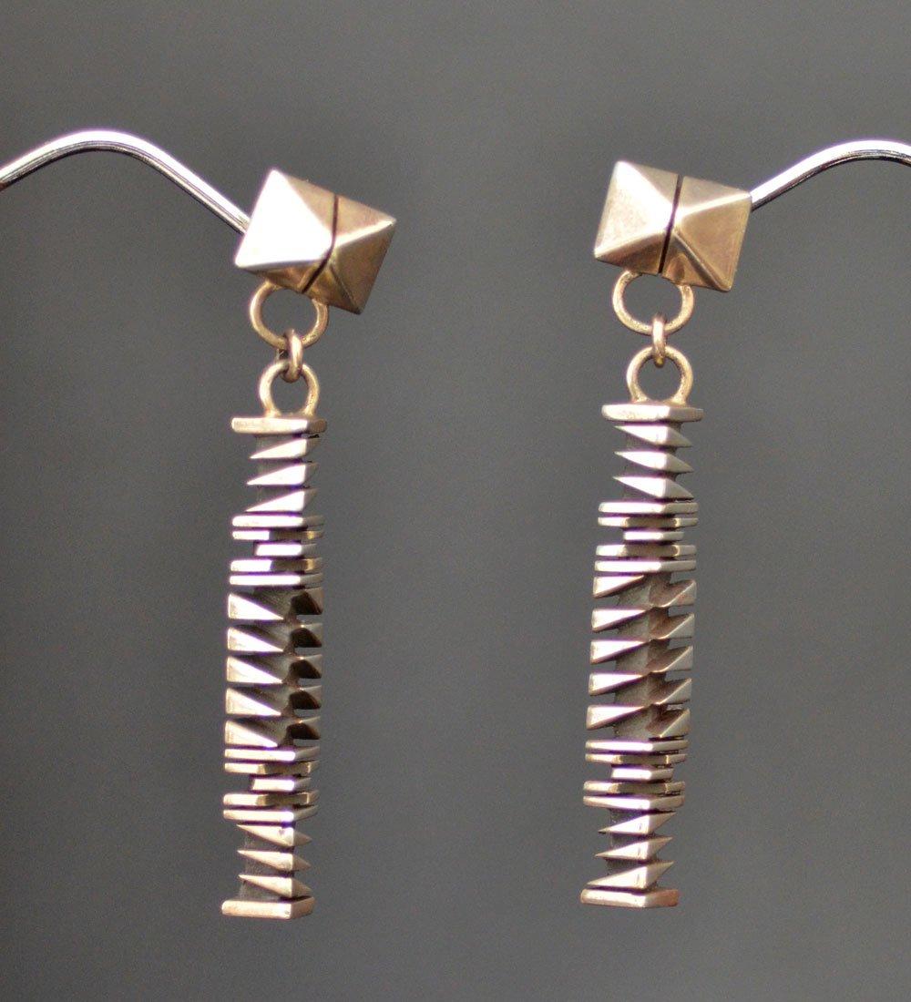 Isaiah Ortiz Silver Earrings