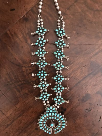 Early Zuni Childs Necklace