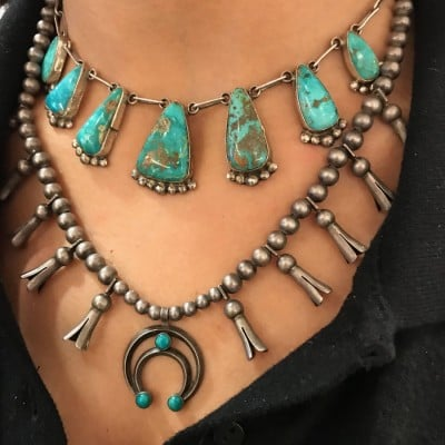 Squash Blossom Necklace-Bell Trading Post