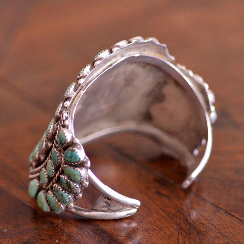 Turquoise Cluster Bracelet
