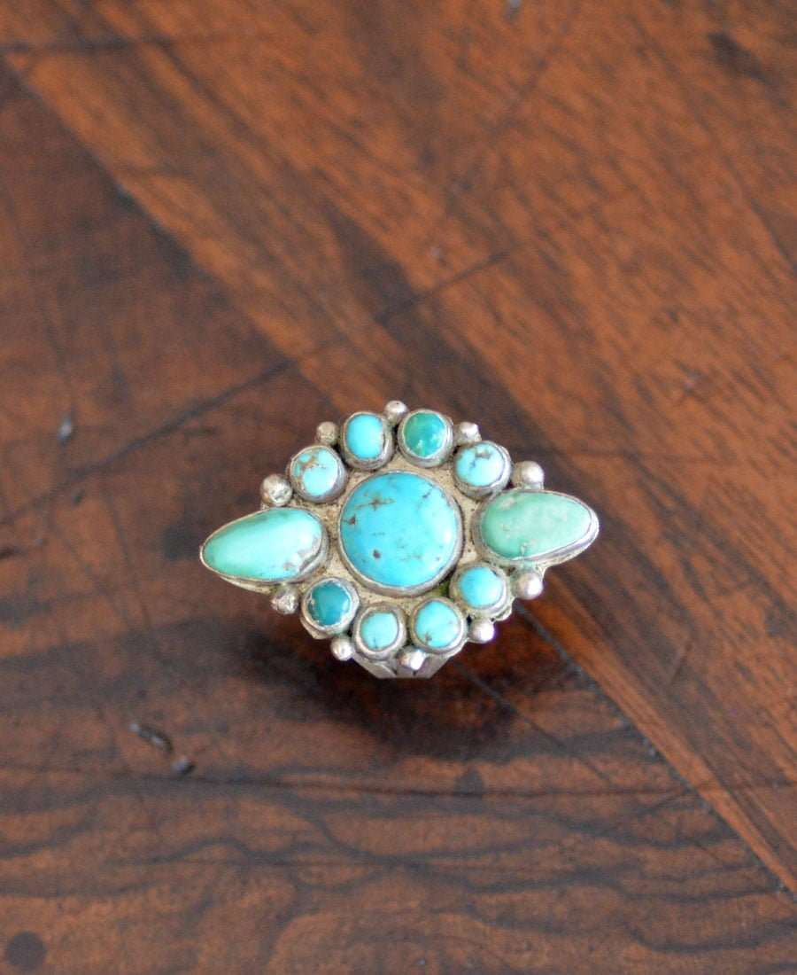 Navajo Arrow Cluster Ring