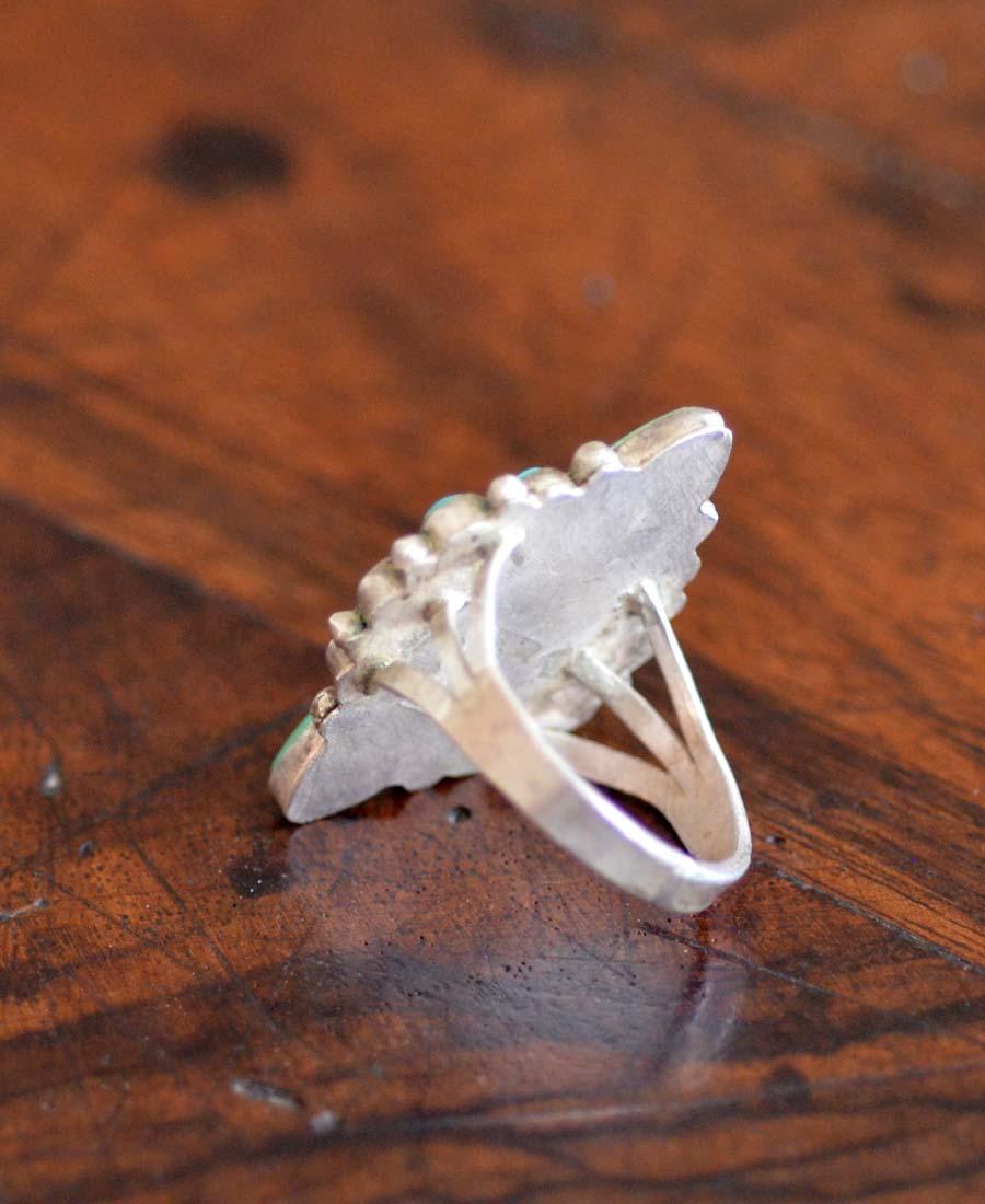 Navajo Arrow Cluster Ring