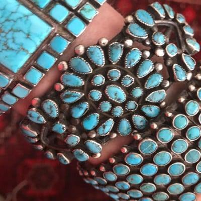 Turquoise Zuni Bracelets