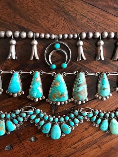 Native American Turquoise Necklaces