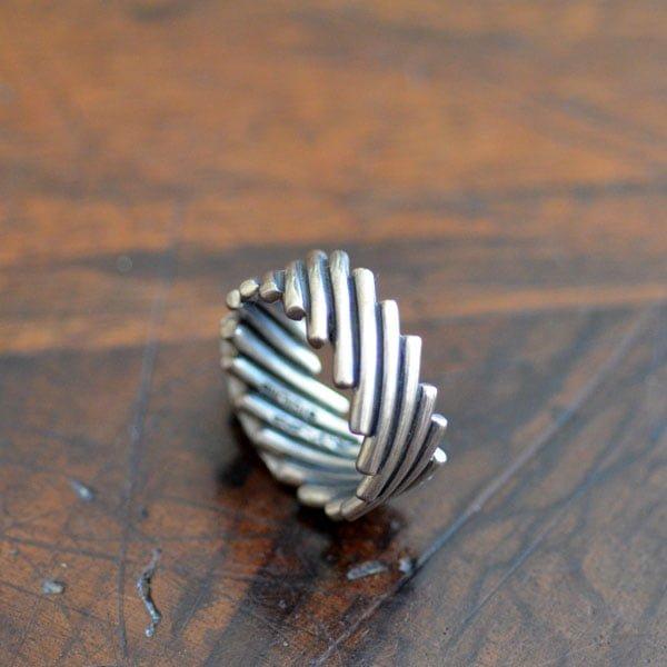 Steve Arviso Silver Ring