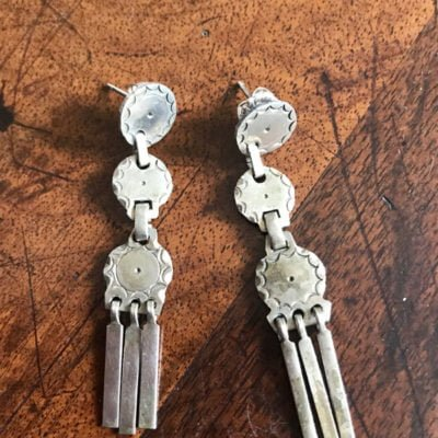 Kiowa Plains Indian Earrings-circa 1920's