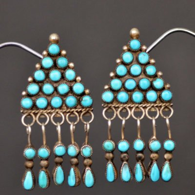 Beautiful Navajo Turquoise Earrings