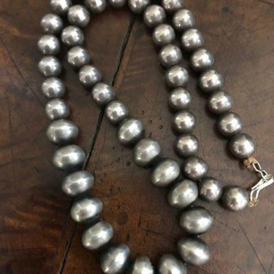 Navajo Silver Pearls c. 1940's