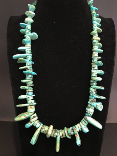 Turquoise Nugget Necklace