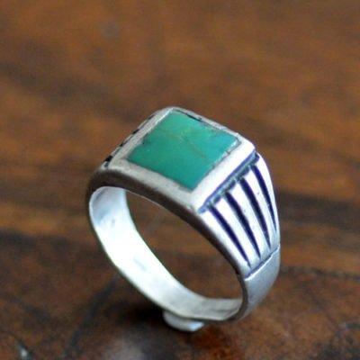 Navajo Silver Ring c.1920's
