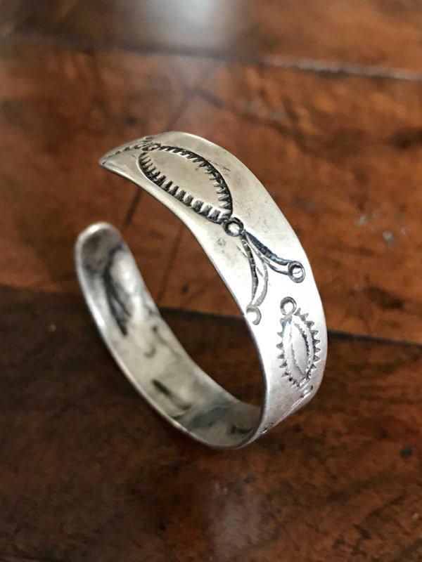 Early Navajo Stamped Bracelet