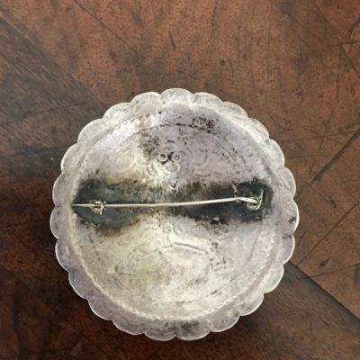 Navajo Silver YEI Pin