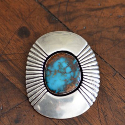 Fabulous Bisbee Turquoise Pendant