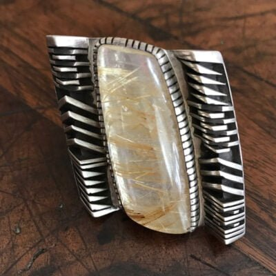Isaiah Ortiz Reticulated Quartz Ring