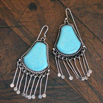 Liz Wallace Turquoise Earrings