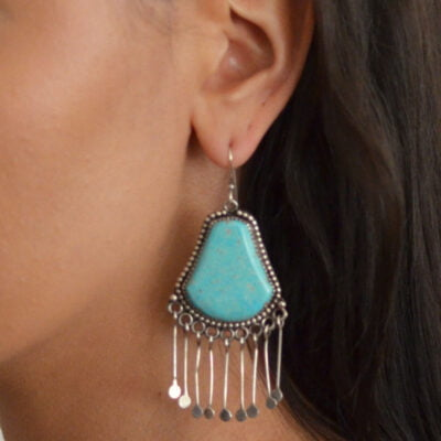 Liz Wallace Turquoise Earrings