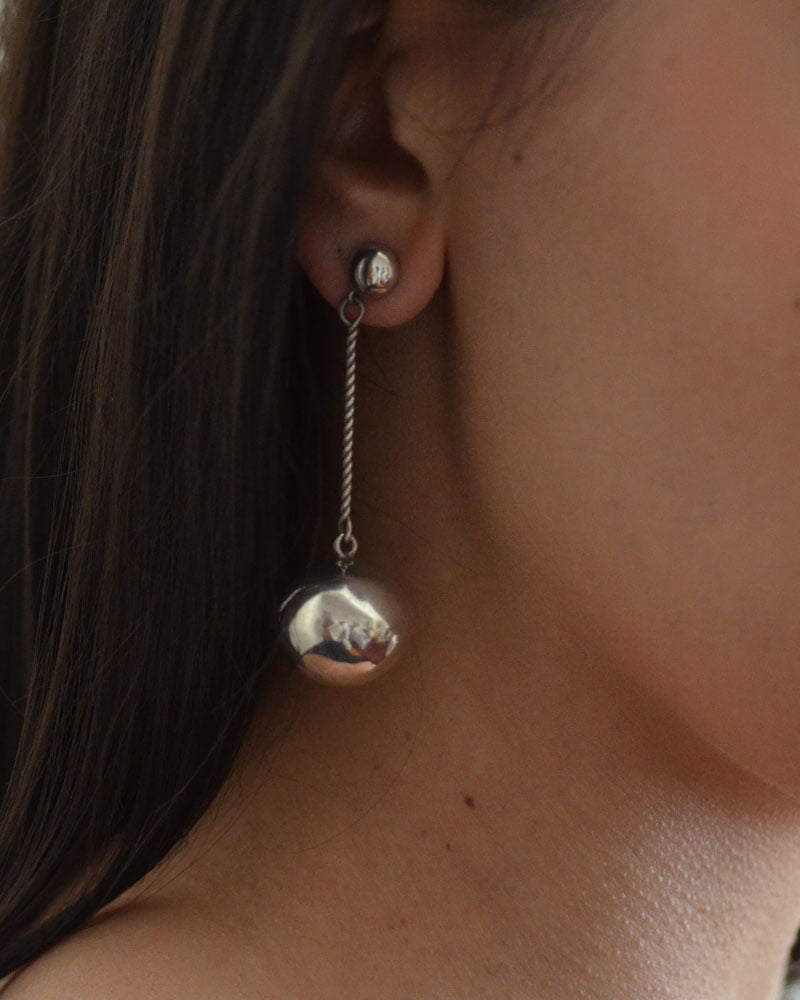 Silver Earrings By Joe Quintana
