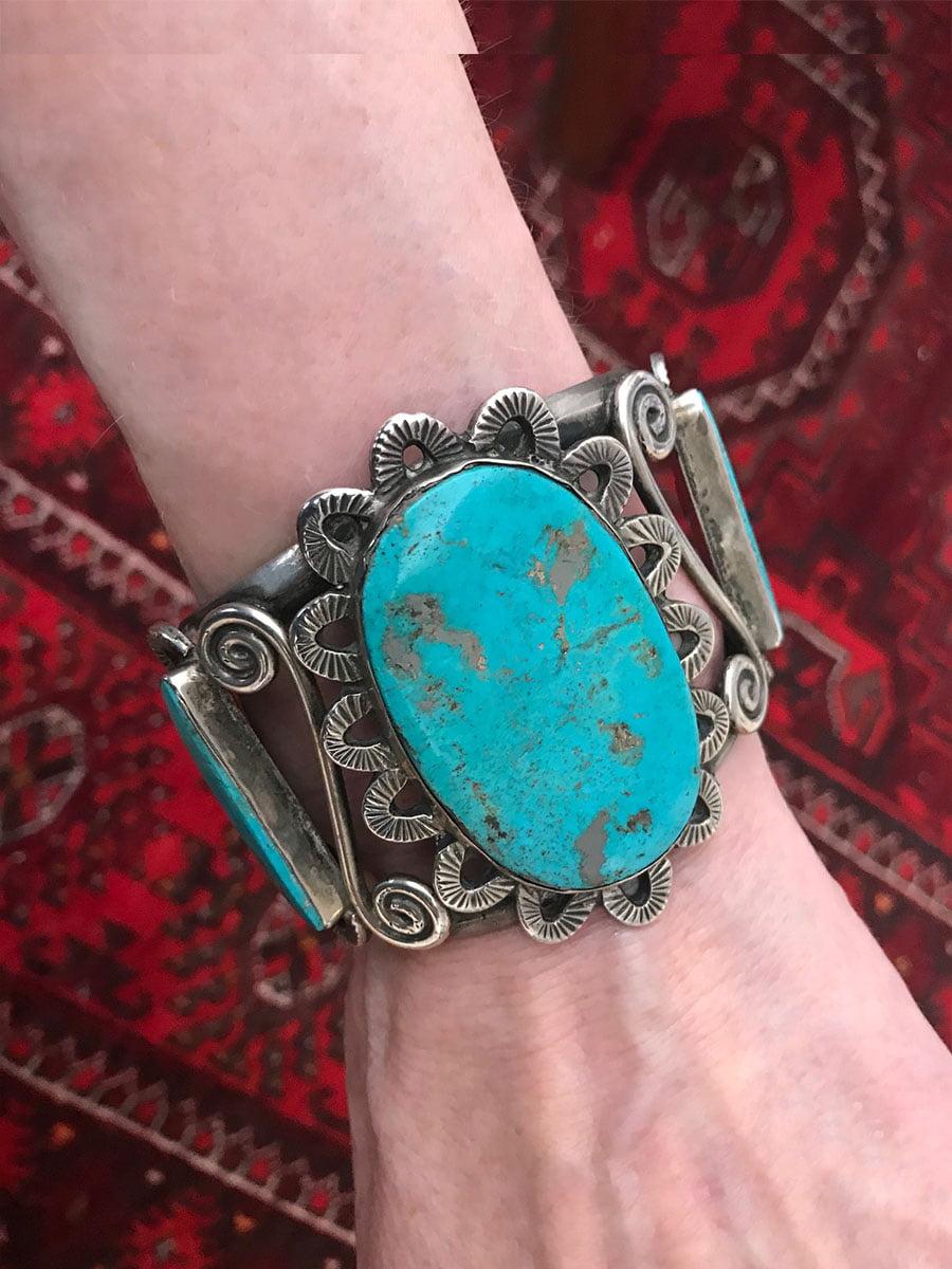 Large Dan Simplicio Turquoise Bracelet